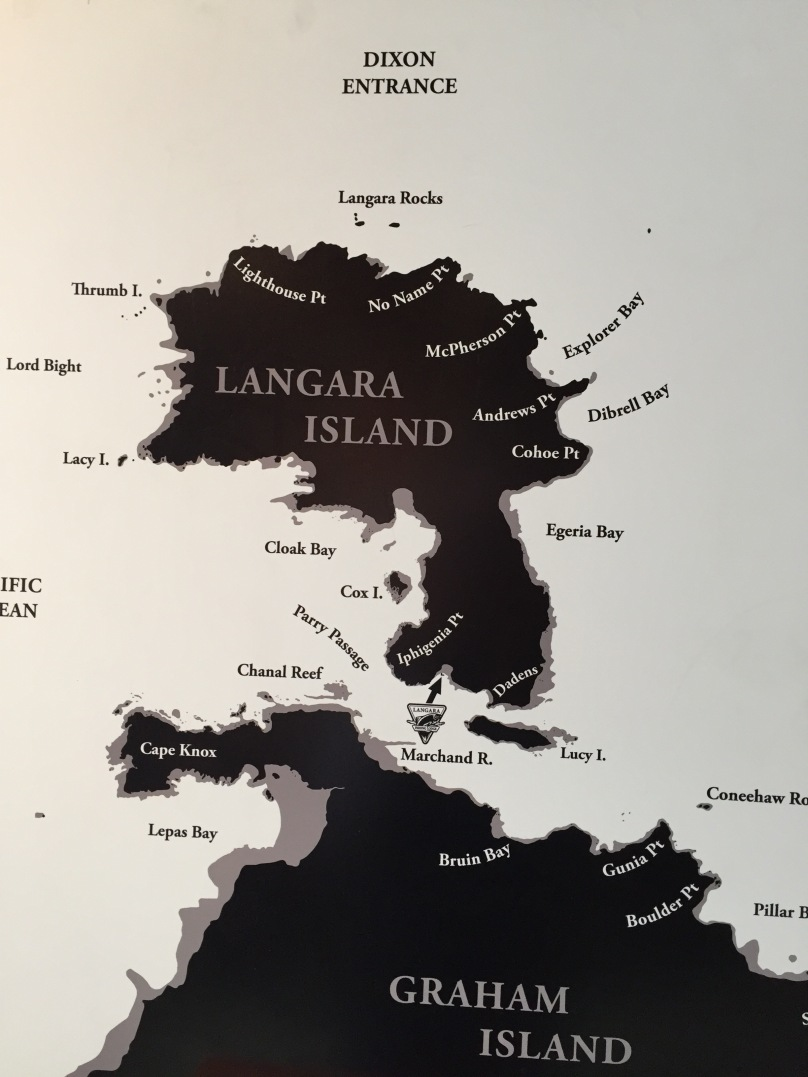 Map of the island